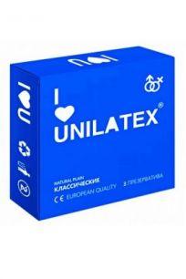 Презервативы Unilatex Natural Plain классические, 3 шт.